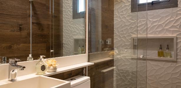 Como decorar o banheiro quando voc u00ea n u00e3o tem lavabo em casa; veja 20 ideias BOL Fotos BOL Fotos