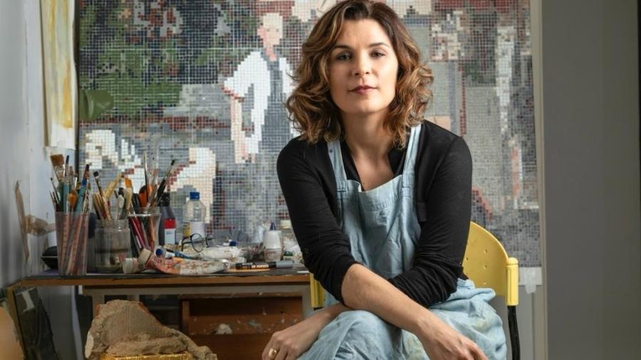 Jeane Terra, artista plástica mineira radicada no Rio de Janeiro - Divulgação
