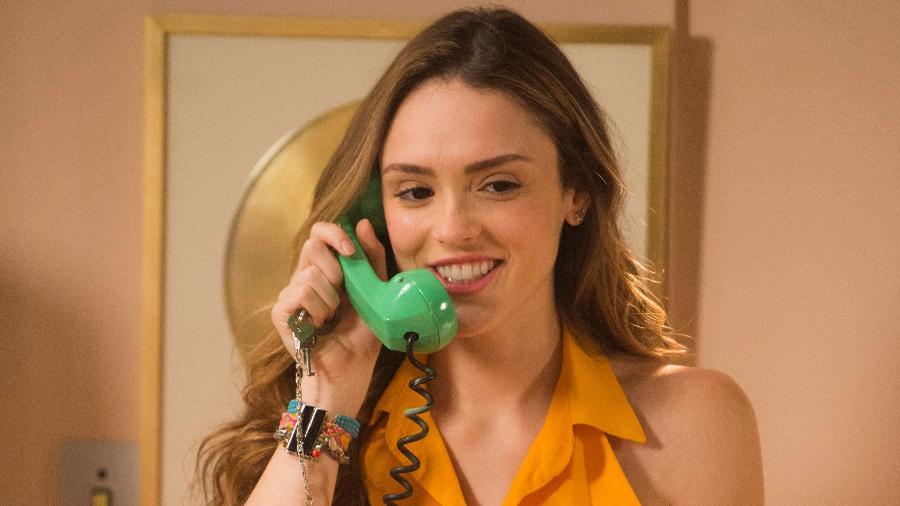 """Isabelle Drummond em cena de """"Verão 90"""" - Rafael Campos/Globo"""