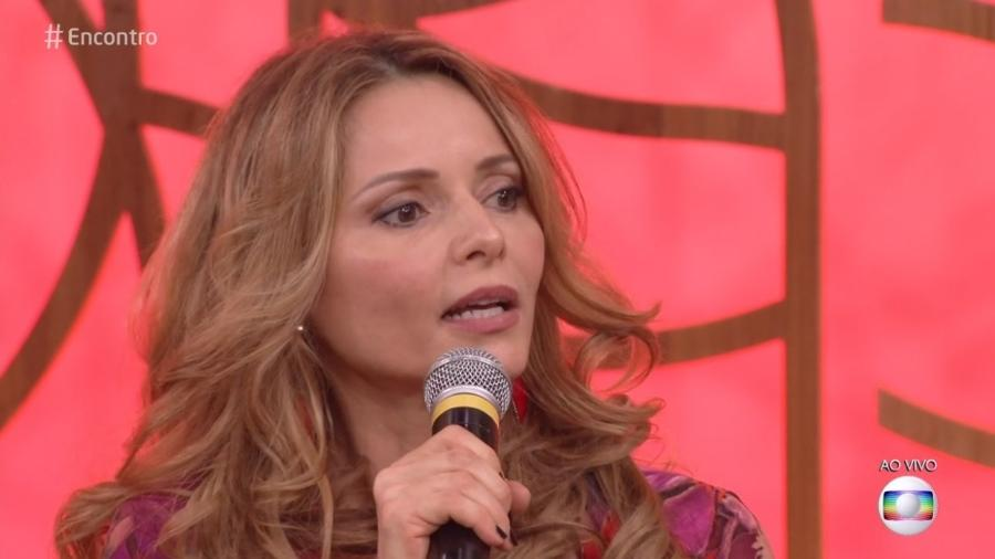 """Rita Guedes no """"Encontro"""" - Reprodução/Globo"""