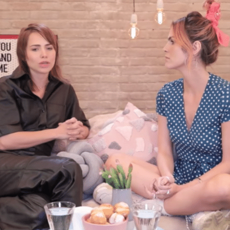 Leticia Colin é entrevistada por Julia Faria - Reprodução/Instagram