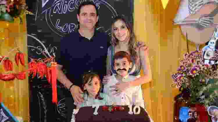 """Márvio Lúcio, o """"Carioca"""" e Paola Machado comemoram aniversário dos filhos em São Paulo - Brazil News - Brazil News"""