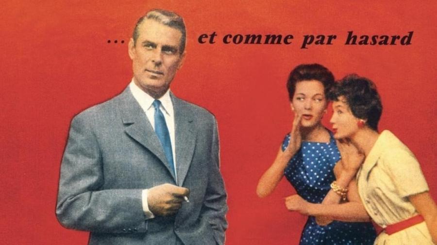 Publicidade para terno Bayard, em 1957 - Coll. part. DR