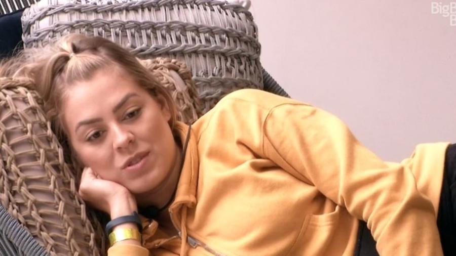 Isabella conversa com Diego sobre Maycon - Reprodução/GloboPlay