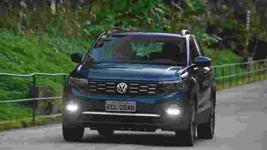 """Volkswagen T-Cross é um dos candidatos a """"melhor carro do mundo"""" em 2020 - Murilo Góes/UOL"""