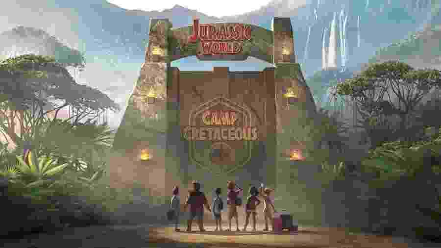 """Primeira imagem de """"Jurassic World: Camp Cretaceous"""" - Divulgação"""