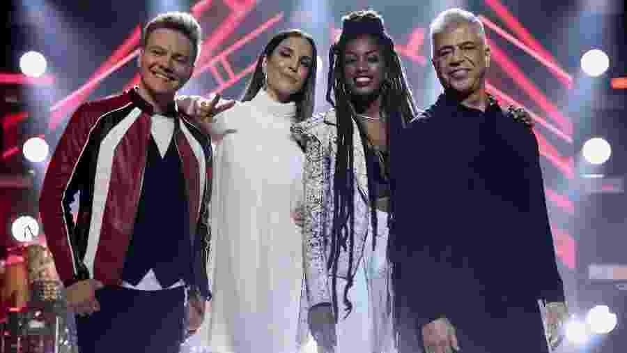 Os jurados do The Voice Brasil 2019 - Roberto Filho/Brazil News