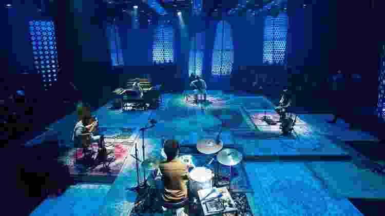 Tiago Iorc gravou o Acústico MTV em um estúdio em São Paulo com um público de 250 convidados - Marcos Hermes/Divulgação