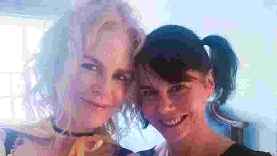 Nicole Kidman e a irmã, Antonia Kidman, preparadas para o Halloween - Reprodução/ Instagram