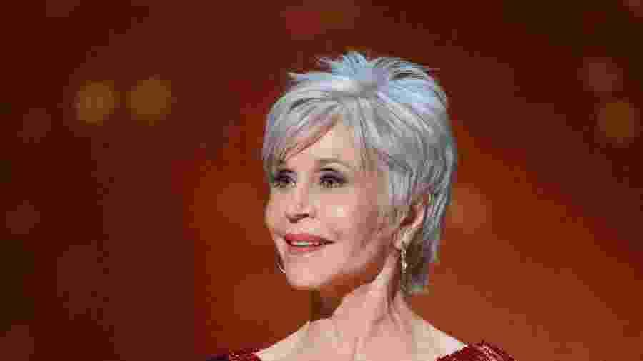 Jane Fonda é uma ativista dos direitos humanos que usa sua projeção como atriz para dar voz às suas causas - Getty Images