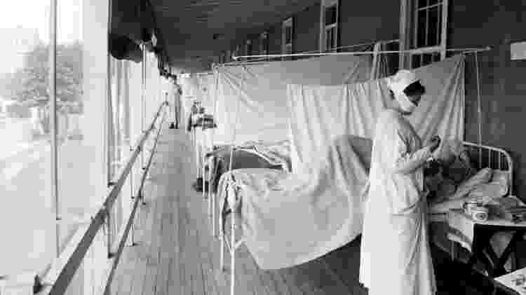 Pandemia de gripe espanhola - Divulgação - Divulgação