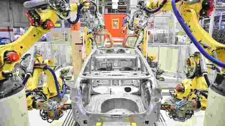 Fábrica de automóveis - Divulgação - Divulgação