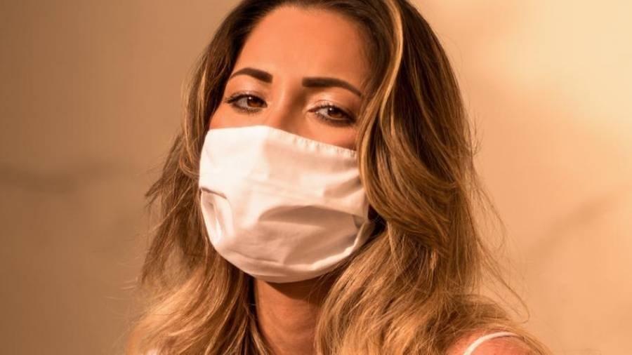 Luanna Mendes é modelo e atriz; ela se mudou para Manaus em razão da pandemia - Mauro Jorge/Divulgação