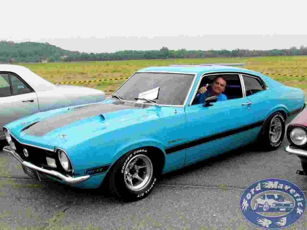 Trovão Azul Opressor Ford Maverick GT 1974 Jair Bolsonaro - Arquivo pessoal