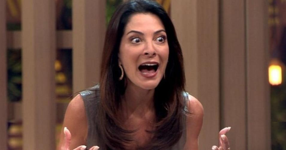 Ana Paula Padrão é a apresentadora do Masterchef