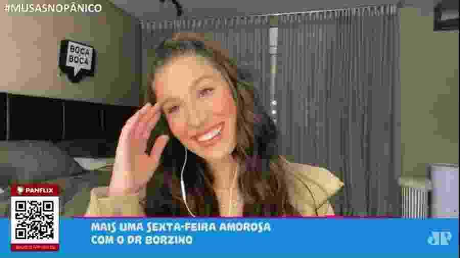 Bianca Andrade durante participação no programa  - Reprodução