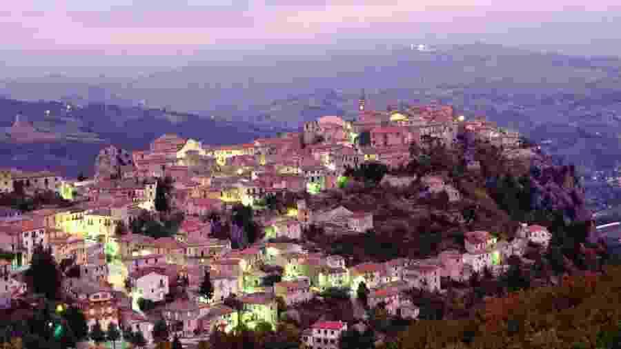 Castropignano, na região de Molise, Itália - Atlantide Phototravel/Getty Images