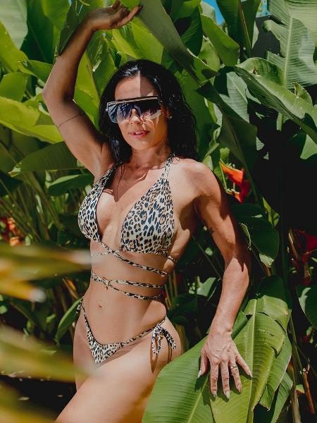 Scheila Carvalho completou 47 anos em outubro - Reprodução/Instagram