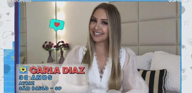 BBB 2021: Carla Diaz brinca com antigas personagens em vídeo pré-BBB
