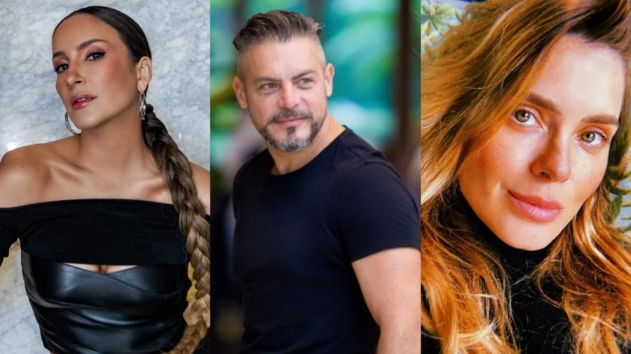 Claudia Leitte, Luigi Baricelli e Carolina Dieckmann são alguns dos famosos brasileiros que moram nos Estados Unidos - Reprodução/Instagram