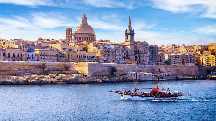 A Catedral de São Paulo é um dos cartões postais de Malta que os novos residentes poderão ver de perto - Ewg3D/Getty Images