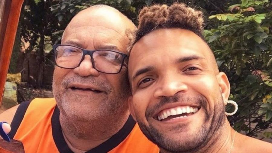 Buja Ferreira ao lado do pai - Reprodução/Instagram