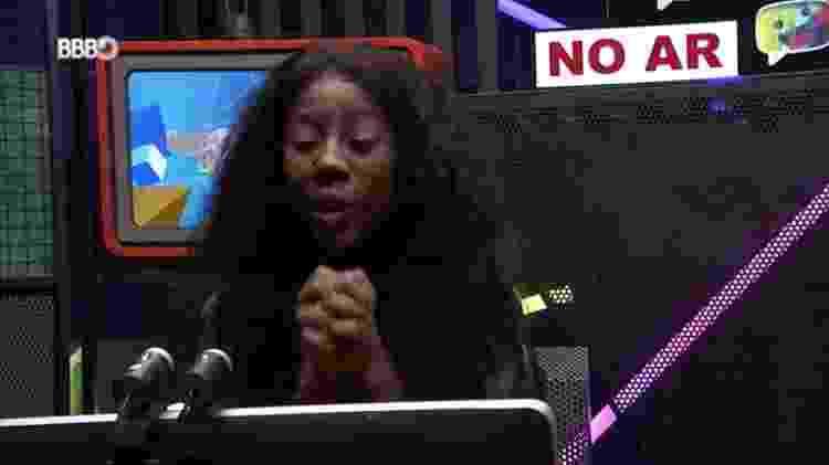 BBB 21: Camilla de Lucas pede estratégia da torcida - Reprodução/Globoplay - Reprodução/Globoplay