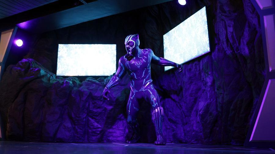 Madame Tussauds estreia estátua de Pantera Negra - HANNAH MCKAY/REUTERS