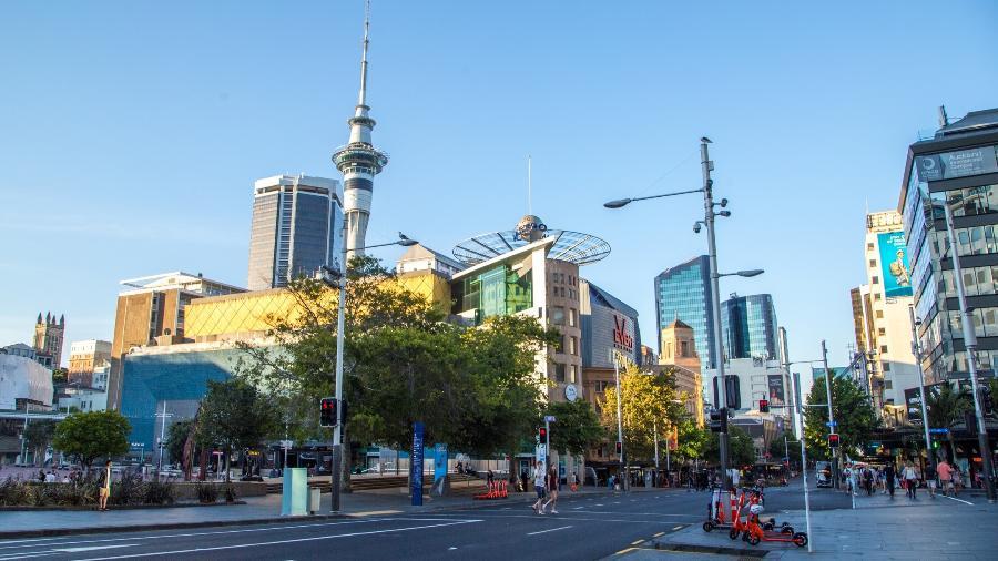 Auckland, na Nova Zelândia - iStockphotos