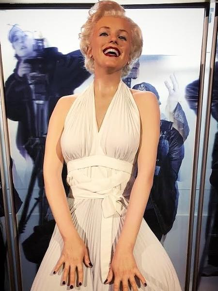 Marilyn Monroe no museu de cera em Londres: rede chega a Dubai - Reprodução Instagram