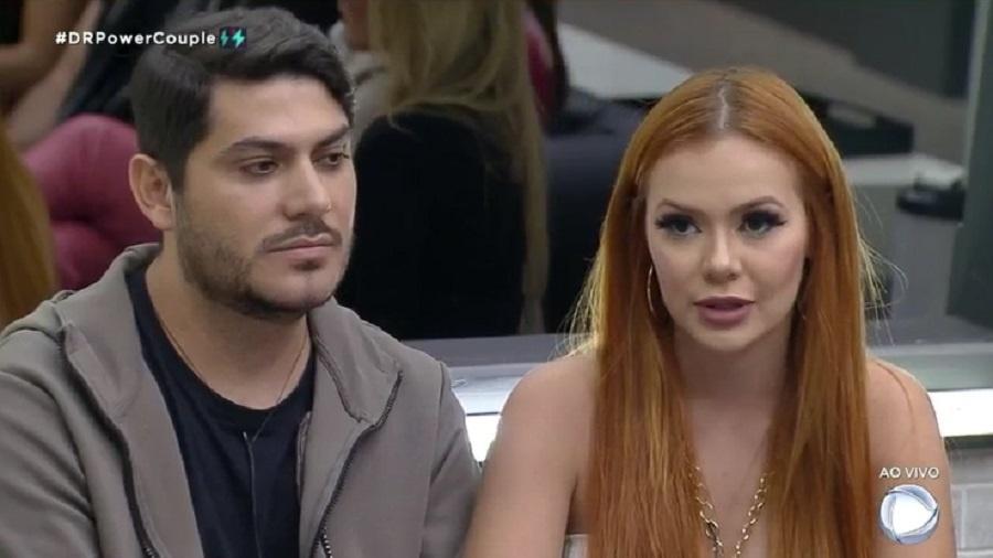 Power Couple: Mirela e Yugnir criticam voto de Dany e Fábio na formação da DR - Reprodução/RecordTV