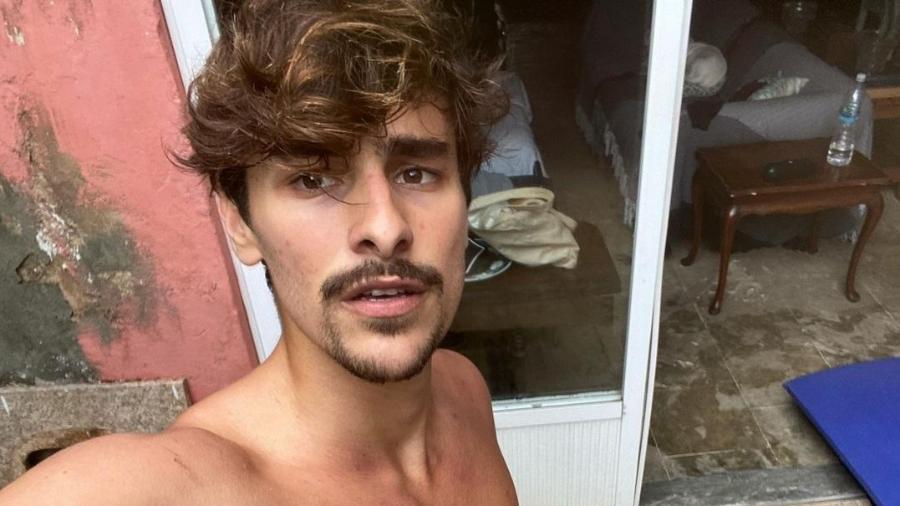 O modelo Bruno Montaleone - Reprodução/Instagram @montaleone