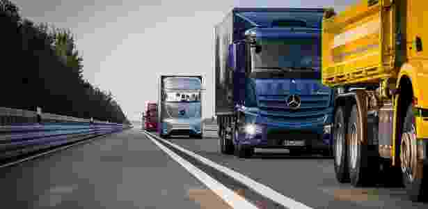 Future Truck 2025: Mercedes deixa a energia de lado e investe em câminhões autônomos - Divulgação