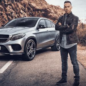 Mercedes-Benz GLE Coupé Lewis Hamilton - Divulgação