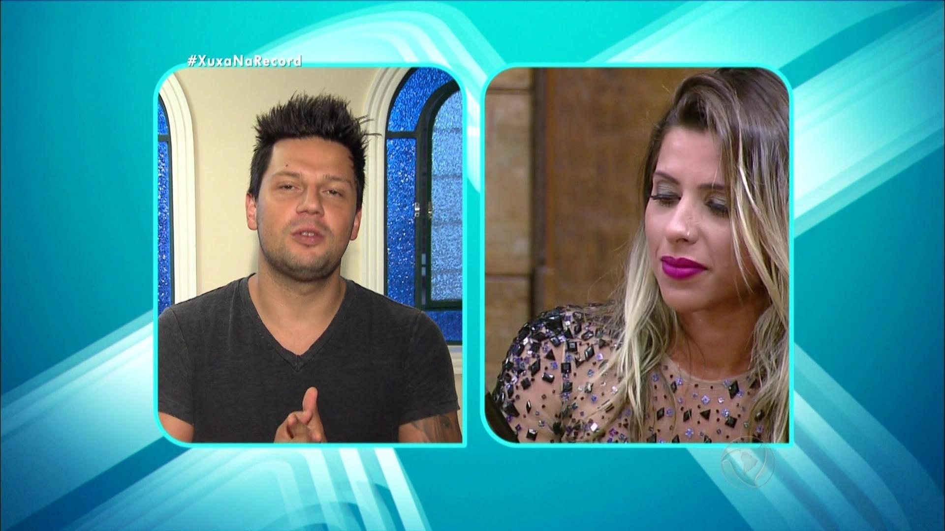 7.dez.2015 - Thiago reafirmou que tem intenção de casar com Ana Paula após o fim de