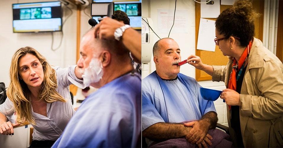 Ator Tony Ramos passa por mudança no visual e perde a barba volumosa que caracterizava seu personagem, Zé Maria, em