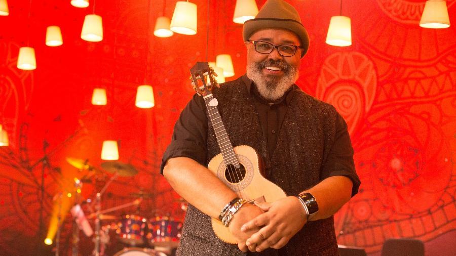 O cantor Jorge Aragão - Marcos Hermes