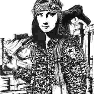 A famosa obra de Da Vinci virou uma guerrilheira pelas mãos do italiano Paolo Lombardi - Divulgação