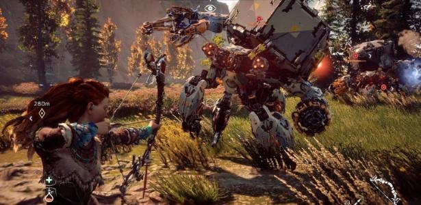 O robô Shell Walker foi uma das contribuições da empresa brasileira Kokku ao tão esperado game - Divulgação/Kokku Hub