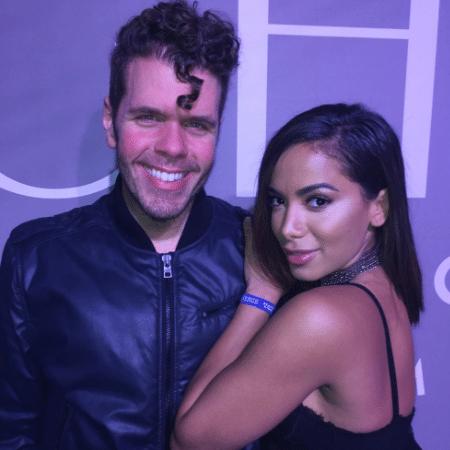 Perez Hilton tieta Anitta em festa em Los Angeles - Reprodução/Instagram theperezhilton