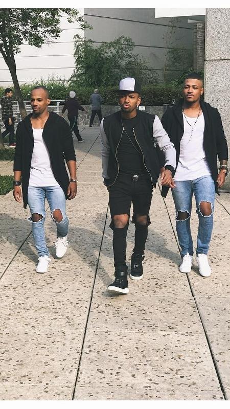 Nego do Borel e seus dançarinos - Reprodução/Instagram