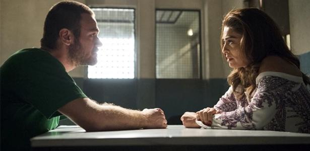 Bibi visita Rubinho na prisão