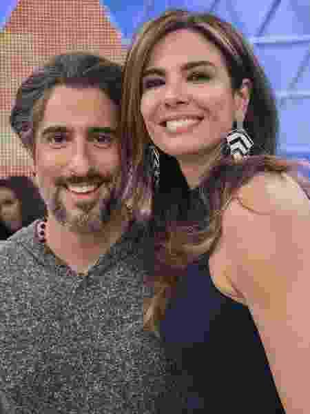 Marcos Mion e Luciana Gimenez - Edu Moraes / Record TV - Edu Moraes / Record TV