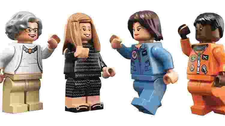 Lego cria kit de cientistas que se destacaram na Nasa - Divulgação - Divulgação