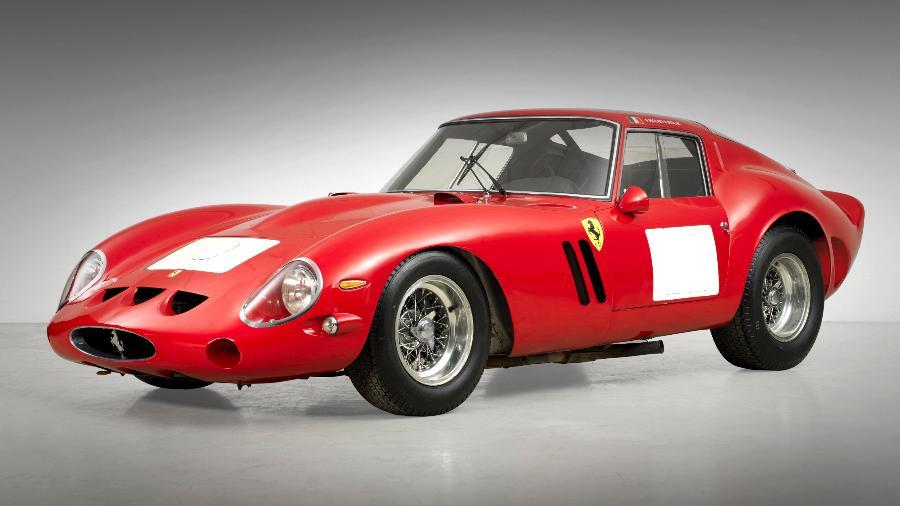 Ferrari 250 GTO 1962 - Peter Gadsby/Reprodução
