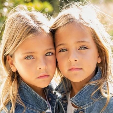 Gêmeas americanas são as novas crianças mais bonitas do mundo - Reprodução/Instagram
