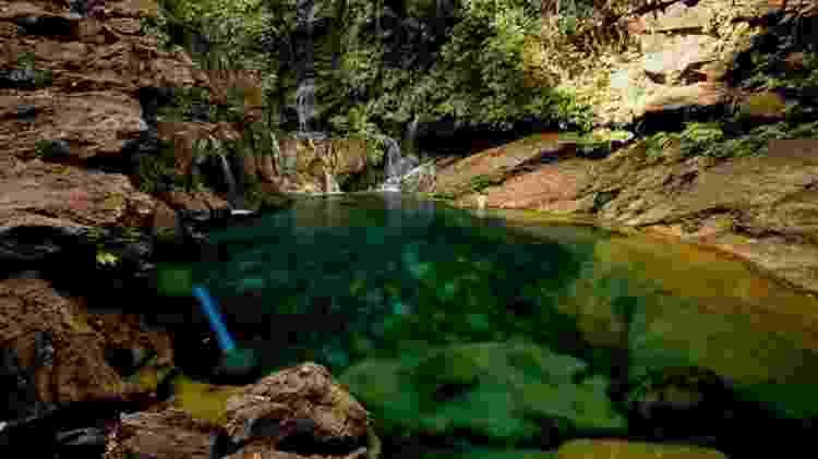 Piscinas naturais, grutas e cenários montanhosos marcam a região da Chapada das Mesas - Alexandre Schneider/UOL