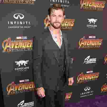 """Chris Hemsworth, o Thor de """"Vingadores"""" - Getty Images"""