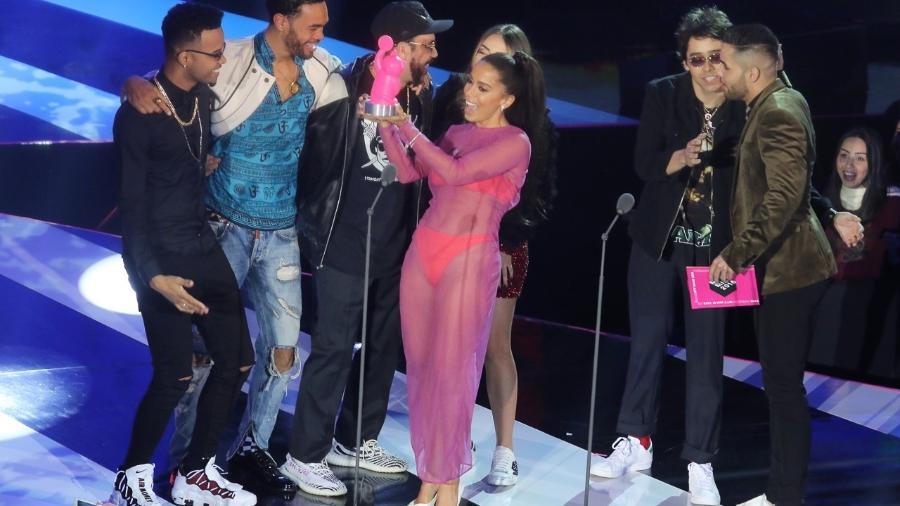 Anitta no MTV MIAW 2018 - Francisco Cepeda  e Thiago Duran/AgNews