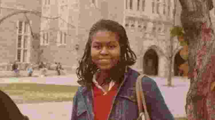 Michelle Obama em foto na Universidade de Princeton, onde se formou advogada - Reprodução/Instagram/michelleobama - Reprodução/Instagram/michelleobama